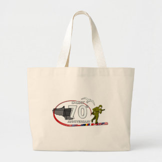 70ème anniversary of the Normandy landing of Norma Jumbo Tote Bag