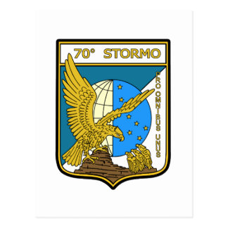 70o Stormo Postcard