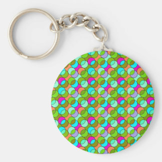 70s Circles green Keychains