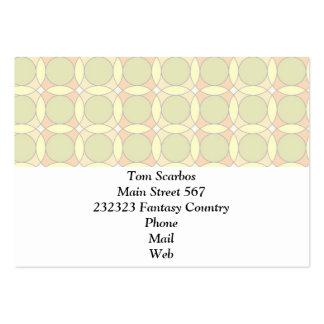 70s Design circles soft Business Card Template