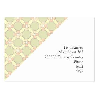70s Design circles soft Business Card Templates