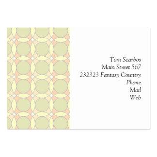 70s Design circles soft Business Cards