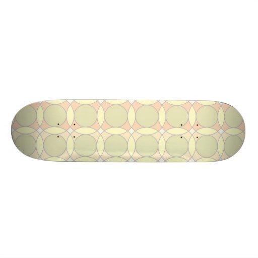 70s Design circles, soft Custom Skateboard