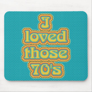 70's mouse pad