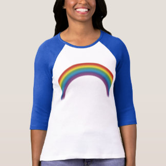 70'S RAINBOW HALF SLEEVE T SHIRT