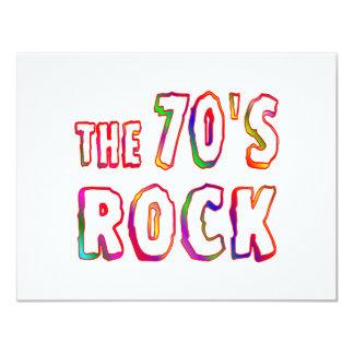 70s Rock Invitation