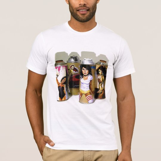 70's Sassy Style Spray Cans T-Shirt