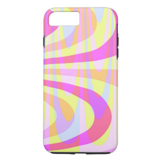 70's Swirls iPhone 8 Plus/7 Plus Case