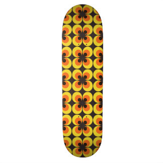 70s Wallpaper 21.3 Cm Mini Skateboard Deck