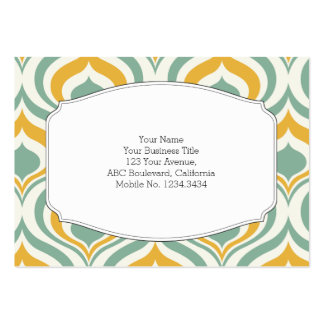 70's Wallpaper Pattern Pack Of Chubby Business Cards