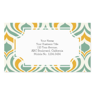 70's Wallpaper Pattern Pack Of Standard Business Cards