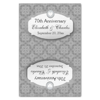70th Anniversary Wedding Gift Ideas : Wedding Anniversary GiftsT-Shirts, Art, Posters & Other Gift Ideas ...
