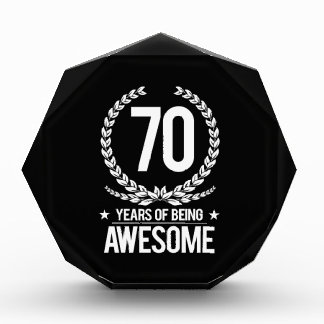 70th Birthday (70 Years Of Being Awesome)