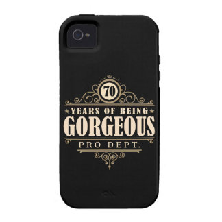 70th Birthday (70 Years Of Being Gorgeous) iPhone 4/4S Cover