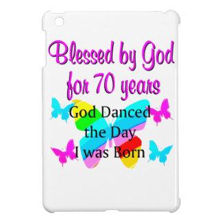 70TH BIRTHDAY BLESSING iPad MINI COVERS