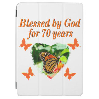 70TH BIRTHDAY BUTTERFLY PHOTO DESIGN iPad AIR COVER