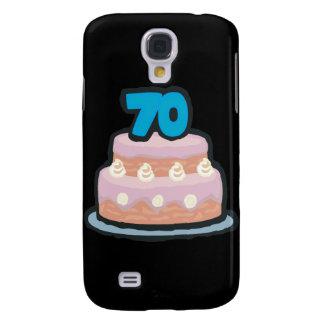 70th Birthday Samsung Galaxy S4 Cases