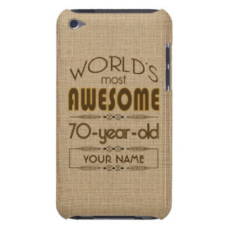 70th Birthday Celebration World Best Fabulous Case-Mate iPod Touch Case