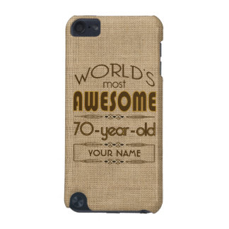 70th Birthday Celebration World Best Fabulous iPod Touch 5G Covers