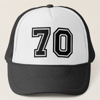70th Birthday Classic Trucker Hat