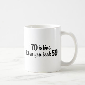 70th Birthday Coffee Mug
