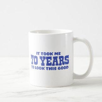 70th Birthday Coffee Mugs