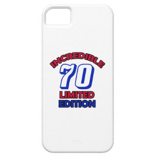 70th Birthday design Case For The iPhone 5