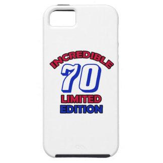 70th Birthday design iPhone 5 Cases