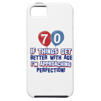 70th birthday designs iPhone 5 cover