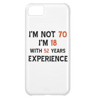 70th birthday designs iPhone 5C case
