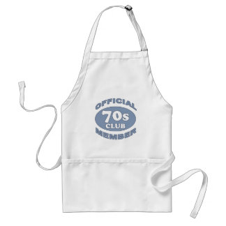 70th Birthday Gag Gifts Standard Apron