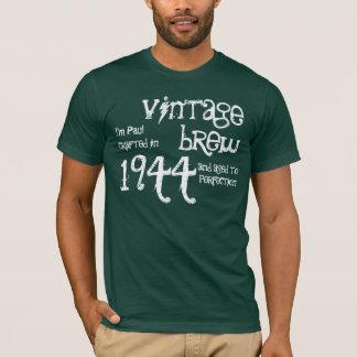 70th Birthday Gift 1944 Vintage Brew Green v6 T-Shirt