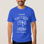 70th Birthday Gift 1946 or ANY YEAR Vintage Shirt
