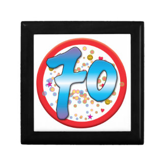 70th Birthday Jewelry Box