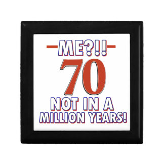 70th birthday gifts gift boxes
