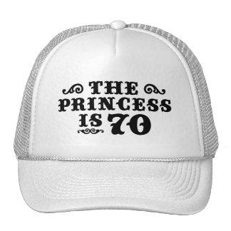 70th Birthday Trucker Hats