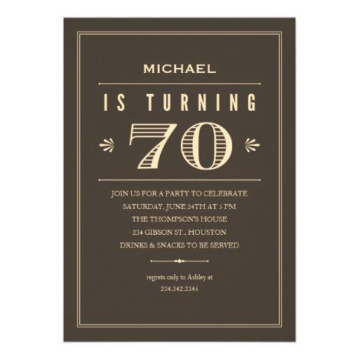 Celebrating 70th Birthday Quotes: Quotes For 70th Birthday Invite. QuotesGram