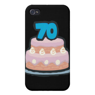 70th Birthday iPhone 4/4S Covers