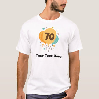 70th Birthday Party Gift Idea T-Shirt
