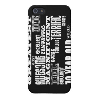 70th Birthday Party Greatest Seventy Year Old iPhone 5 Case