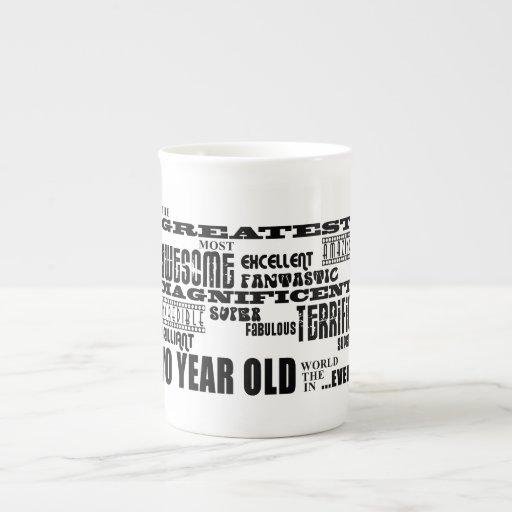 70th Birthday Party Greatest Seventy Year Old Bone China Mug