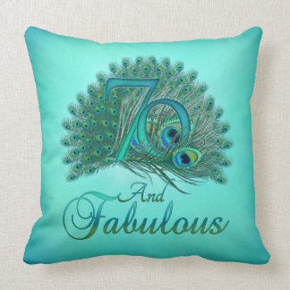 70th Birthday Pillows