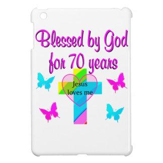 70TH BIRTHDAY PRAYER COVER FOR THE iPad MINI