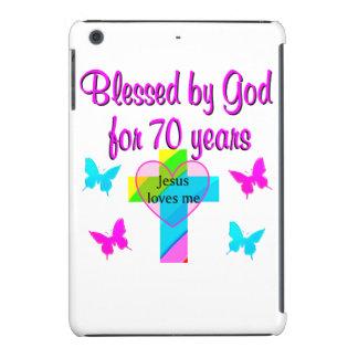70TH BIRTHDAY PRAYER iPad MINI RETINA COVER