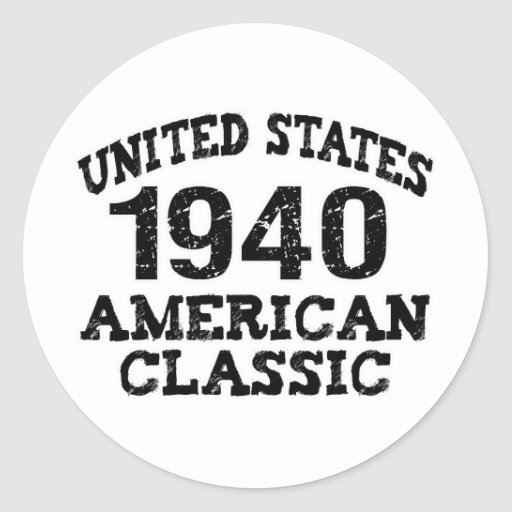 70th Birthday Sticker