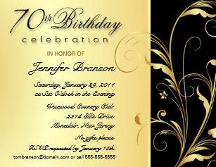 surprise 70th birthday invitations zazzle uk