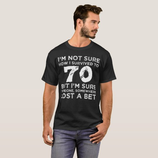 70th Birthday Survival T-Shirt