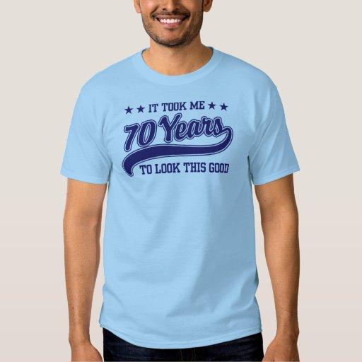 70th Birthday Tee Shirts