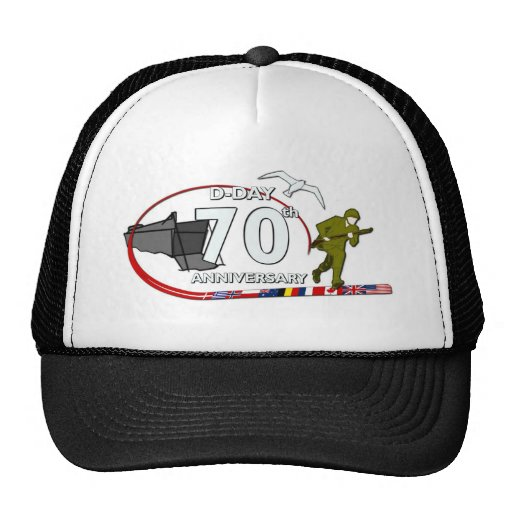 70th D-Day anniversary Hats