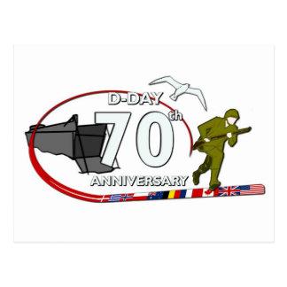 70th D-Day anniversary Postcard